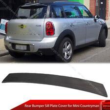 Universal Rear Bumper Sill Scuff Plate Protector for Mini Countryman R60 11-16