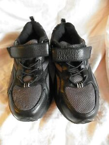 DR COMFORT ENDURANCE DIABETIC THERAPEUTIC ATHLETIC SHOES BLACK WOMENS SIZE 7.5 W