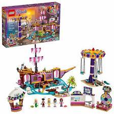 Lego Friends Heartlake City Amusement Pier 41375 Toy Roller coaster Building Kit
