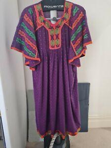 Ladies Arabic Medi Koftan Lounge Wear Dress