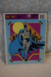 Golden Batman Frame-Tray Puzzle 1989