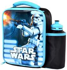 Star Wars Stormtrooper Lunch Bag/Box and 500ml Bottle Set | Last Jedi | Lunchbox