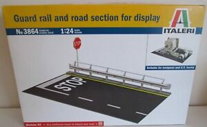 1/24 SCALE   ITALERI #3864  ROADWAY  GUARD RAIL SECTION