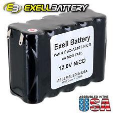 Exell 12 V 1000 mAh (10xAA) NiCd Battery Pack  w/ Tabs