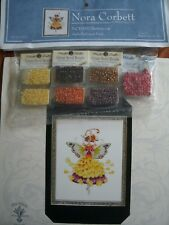 """""""BUTTERCUP"""" NORA CORBETT XSTITCH CHARTS WITH EMBELLISHMENT PACK"""