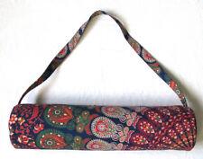 New Hippy Mandala Yoga Mat Carrier Multi Unisex Gym Mat Bag With Shoulder Strap
