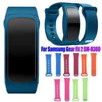Wristband Silicone Watch band Strap Bracelet For Samsung Gear Fit 2 SM-R360