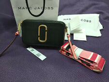 MARC JACOBS  Snapshot Small Camera Bag BLACK pink MULTI..NWT HOT .