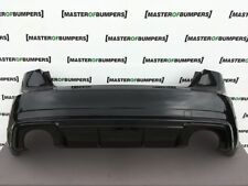 AUDI RS3 8V 2015-2018 REAR BUMPER IN BLACK COMPLETE GENUINE [A667]