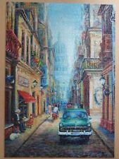 CUBA 'HAVANA EVENING'  CLASSIC CAR 1000 PIECE JIGSAW PUZZLE