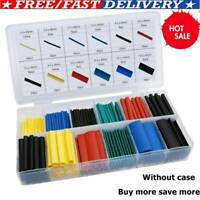 328pc/Kit Heat Sleeve Assortment Tubing Electrical Cable Tube Shrink Wrap Wire