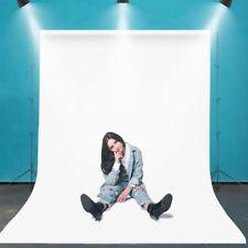 5x10 ft White Photo Backdrop Background Screen for Portrait Product Photo Studio