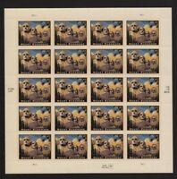 4268, $4.80 Mount Rushmore Priority Mail Sheet of 20 Stamps  - Stuart Katz