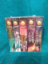 The Heroes of Olympus by Rick Riordan (Brand new Boxed set---Paperback)