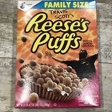Travis Scott Reeses Puffs Cereal New Unopened Cactus Jack Family Size