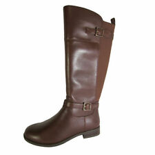 Zip Leather Medium (B, M) Width Knee High Boots for Women