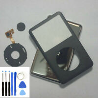 Black For iPod Classic 80GB 120GB 160GB front panel + clickwheel+back housing
