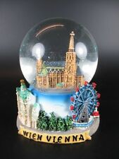 Wien Schneekugel Stephansdom Prater Sissy Snowglobe 14 cm ! ! !,Souvenir Austria