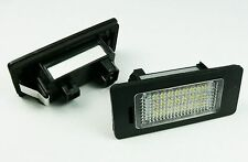 LED NUMBER PLATE LICENSE PANEL LIGHT LAMP BMW E90 E39 E60 E70