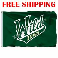Iowa Wild Logo Flag AHL American Hockey League 2018 Banner 3X5 ft