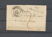 1836 Lettre cursive 79/La Roche Servière + C13 Montaigu VENDEE(79) Superbe X4716