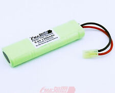 Ni-MH 9.6V 1300mAh Battery for AGM MP008 5859-T FPS-420 Airsoft Rifl 1/2A_8SH