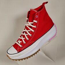 Converse Run Star Hike Hi University Red Peony Pink 167107C Men's Size 13 NWOB