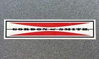 Gordon & Smith G&S CLASSIC BAR skateboard sticker red G&S reissue 6.2in si