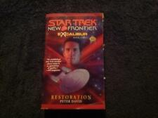 Star Trek New Frontier - Excalibur Book Three Restoration by Peter David  Book