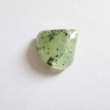 Préhnite cabochon pierre fine 18x18x7mm gemme multicolore reiki chakra plexus