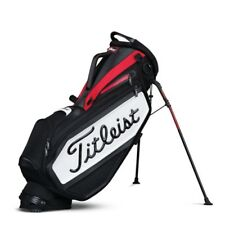 NEW 2017 Titleist Golf Staff Stand Bag TB7SXSF-061 Black Red White Premium Bag