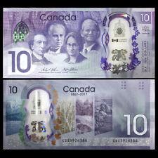 Canada 10 Dollars, 2017, P-112, Polymer, COMM, UNC