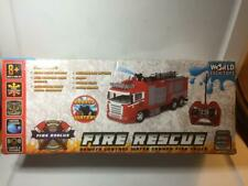World Tech Toys Fire Rescue Water Cannon Rc Fire Truck