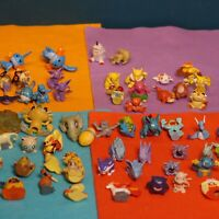 Joblot of Small Pokemon figures Most gen 1 Collectible