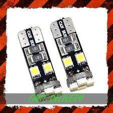 4x Canbus Libre De Error 8 SMD LED Blanco Xenon HID Luz Lateral W5W T10 501 BMW Ford