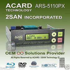 ACARD ARS-5110PX 1-to-10/11 SATA ODD DVD/CD/Blu-Ray Duplicator Controller