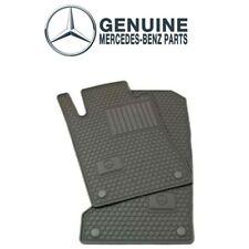 Gray All Season Floor Mats Rubber Genuine For Mercedes W164 ML GL Class 2006-11