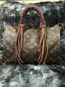 AUTHENTIC LOUIS VUITTON Monogram Speedy 30 Vintage