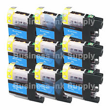 9 CYAN LC103XL HIGH YIELD LC103 Ink Cartridge * VERSION 3 Chip * for BROTHER