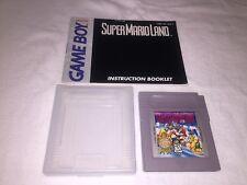 Super Mario Land (Nintendo Game Boy) GB Game Cartridge w/Manual Vr Nice!