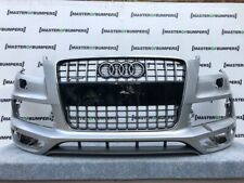 AUDI Q7 S LINE FACE LIFTING 2009-2014 FRONT BUMPER WITH GRILL GENUINE [A161]