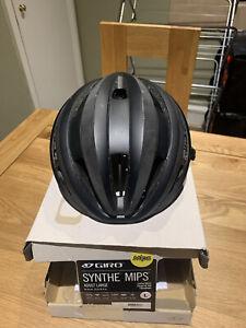GIRO Synthe MIPS Helmet (Black - Reflective) Size Large