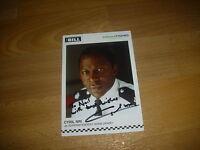 Cyril NRI / Adam OKARO  the BILL  original hand signed photo