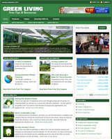 GREEN LIVING - Responsive Niche Website Business For Sale - Free Installation