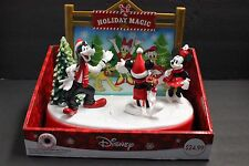 Mickey & Friends Celebrate Christmas Music Animated Table Top Decor Mouse Disney