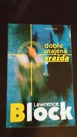 A Stab in the Dark by Lawrence Block SC SIGNED Czech Edition
