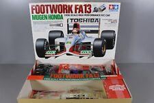 Rare Vintage New Tamiya 1/10 R/C Footwork FA13 Mugen Honda Kit F102 Chassis