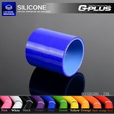 """1 1/2"""" To 1 1/2"""" Straight 38mm Silicone Hose  Intercooler Coupler Tube Pipe Blue"""