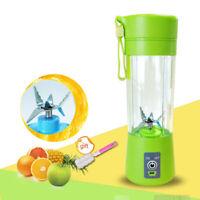 Fruit Juicer Mixer 400ml  USB Rechargeable Portable Juice Blender  Fruit Juicer