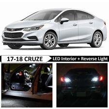 White Interior Reverse Backup LED Light Package Kit for 2017-2018 Chevy Cruze